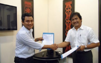 The Signing a Letter Of Agreement Cooperation
